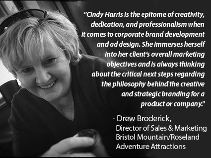 Testimonial for Harris Studios from Drew Broderick, Bristol Mountain